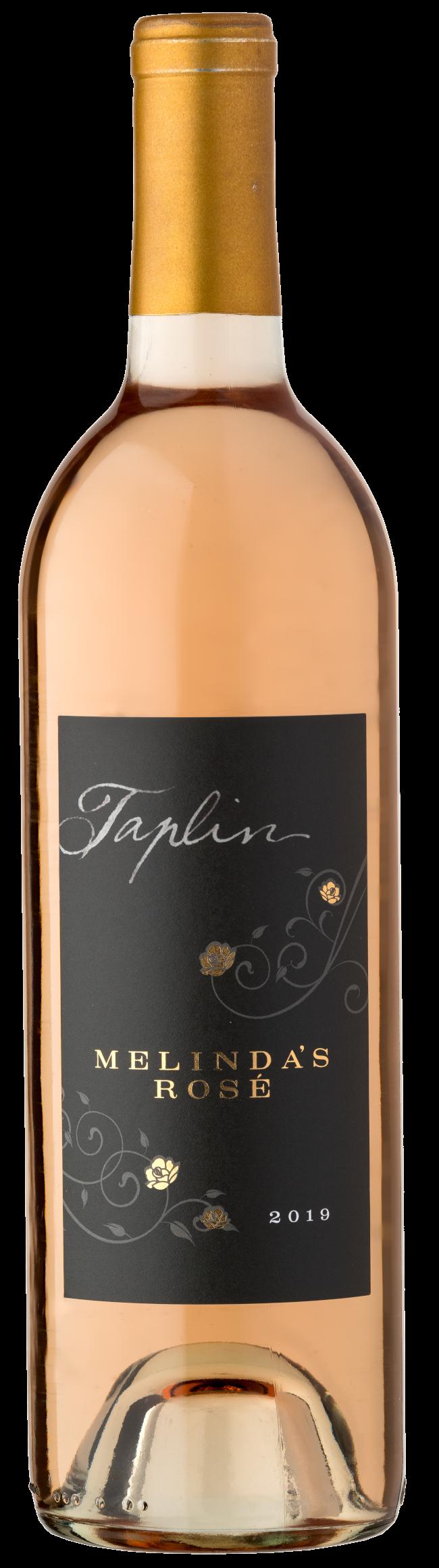 Melinda's Rosé bottle
